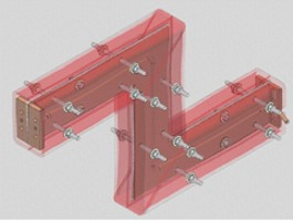 Offset Extension Bus Bar