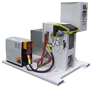 Compact Induction Bar End Heating System