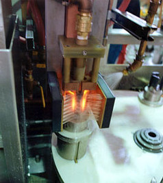 Heat treating a CV Joint