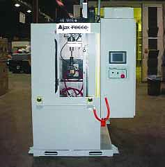 Vertical Scanner for Turbine Shafts