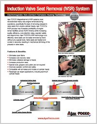 Induction Valve Seat Removal Data Sheet