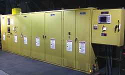 Installation of Ajax TOCCO 200kW – 300Hz Pacer® II power supply with power share