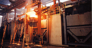 24 ton, 2,000 KW Jet-Flow furnaces