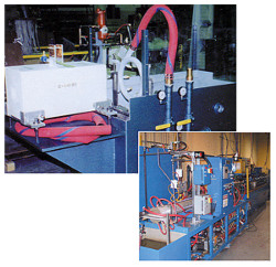 Ajax TOCCO solution anneal heat treatment system