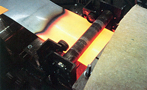 Induction Strip Heating