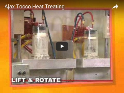 Ajax Tocco Heat Treating Video