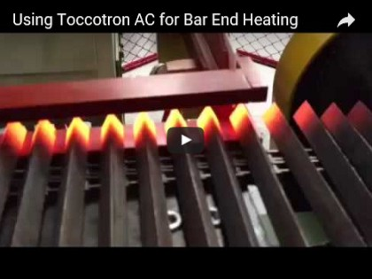 Using Toccotron AC for Bar End Heating